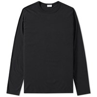 Dries Van Noten Long Sleeve Hayden Tee Black