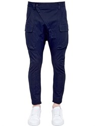 Alexandre Plokhov Stretch Cotton Canvas Cargo Pants