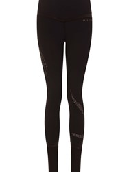 Elle Sport Styled Cuffed Sports Tight Black