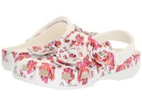 Crocs Classic Timeless Clash Roses Clog Floral White Clog Shoes Multi
