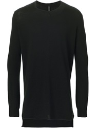 Barbara I Gongini Fine Knit Sweater Black