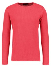 Indicode Jeans Demot Jumper Vermillon Red