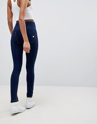 Freddy Wr.Up Shaping Effect High Waist Push Up Skinny Jean Blue