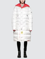 R 13 R13 Long Anorak Puffer Jacket