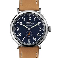 Shinola Runwell 47Mm Watch Neutrals