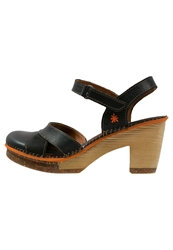 Art Amsterdam Platform Sandals Black
