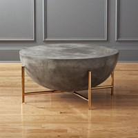 Darbuka Brass Coffee Table