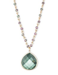 Lonna And Lilly Green Teardrop Pendant Necklace