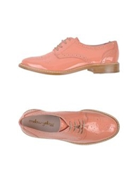 Mellow Yellow Lace Up Shoes Beige