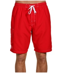 Tyr Challenger Trunk Red Men's Swimwear