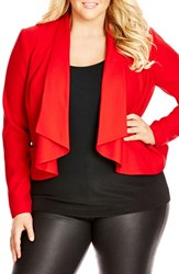 City Chic Plus Size Women's Waterfall Jacket