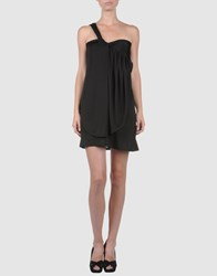 Koo J Dresses Short Dresses Women Black