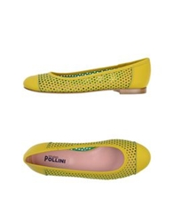 Studio Pollini Ballet Flats Light Green