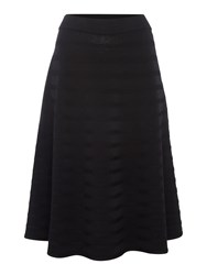 Episode Midi A Line Knitted Skirt Black
