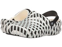 Crocs Bistro Gingham White Clog Shoes