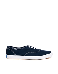 Keds Champions Canvas Navy Plimsoll Trainers