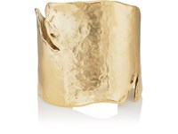 Goossens Paris Pounded Cuff Gold