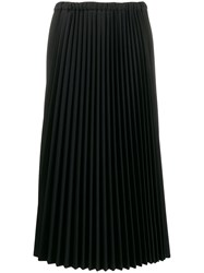 Jil Sander Pleated Mid Length Skirt 60