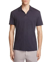 Theory Willem Nebulous Slim Fit Polo Shirt Eclipse