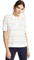 Kule The Vivienne Polo Shirt Multi