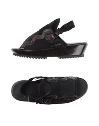 Y 3 Footwear Sandals Women Black