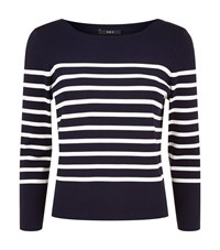 Set Breton Striped Jumper Female Blue