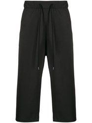 Odeur Wide Leg Cropped Track Pants 60