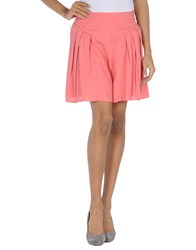 Firetrap Knee Length Skirts Coral