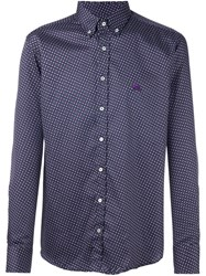 Etro 'Andy' Shirt Pink And Purple