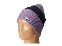 Neff Trio Beanie Purple Navy Blue Beanies