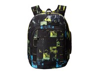 Quiksilver Schoolie Backpack Check Wreck Tarmack Backpack Bags Black