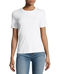 J Brand Colbee Short Sleeve Cotton Tee White