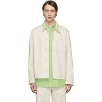 Norse Projects Off White Denim Tyge Jacket