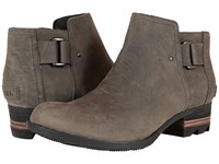 Sorel Lolla Ankle Dark Grey Women's Waterproof Boots Gray