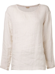 Arts And Science Wide Sleeve Blouse Nude And Neutrals
