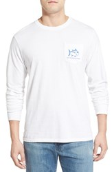 Men's Southern Tide 'Skelejack' Long Sleeve Graphic T Shirt