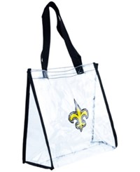 Forever Collectibles New Orleans Saints Clear Tote Bag