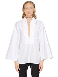 Ellery Amthyst Cotton Poplin Shirt