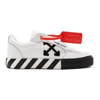 Off White Arrow Vulcanized Low Sneakers