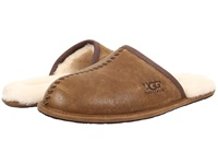 Ugg Scuff Deco Chestnut Leather Men's Slippers Brown