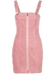 Alice Mccall Hello It's Me Dress Corduroy Dress Pink