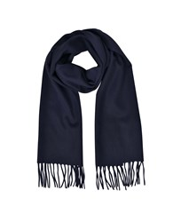 Mila Schon Long Scarves Cashmere And Wool Fringed Long Scarf