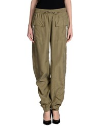 Joseph Trousers Casual Trousers Women Military Green