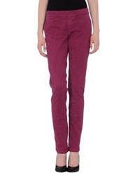 Manila Grace Casual Pants Purple