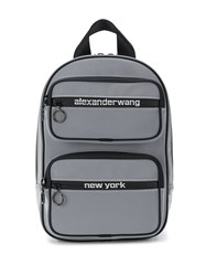 Alexander Wang Reflective Backpack Grey