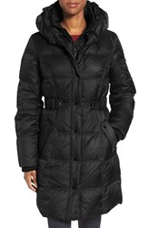 Larry Levine Women's Quilted Down And Feather Fill Coat