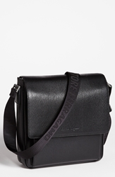 Salvatore Ferragamo 'Revival' Messenger Bag Black