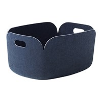 Muuto Restore Basket Midnight Blue