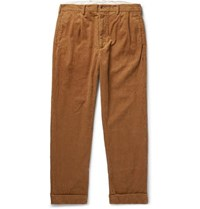 Engineered Garments Andover Cotton Corduroy Trousers Tan