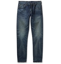 Rrl Slim Fit Denim Jeans Blue